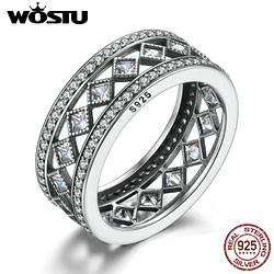 Engagement Rings High Quality Real 925 Sterling Silver Vintage Fascination Ring For Women Fashion S925 Luxury Brand Jewelry Gift XCH7601 [tag]