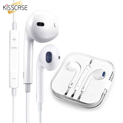 Headphones & Headsets KISSCASE Volume Control Earphones Wire Earphone for Phone Music Earbuds Stereo Game headphones with Microphone for Xiaomi Huawei [tag]