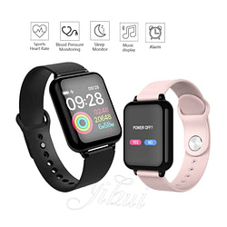 Women's Watches Men Women smartwatch 1.3 IPS Heart Rate Monitor Blood Pressure for Huawei Samsung xiaomi phone Smart Watch B57 IP67 waterproof [tag]