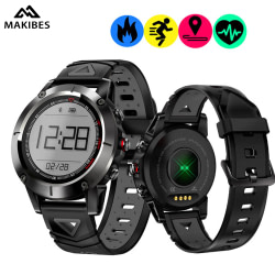 Sports Watches Makibes K6 GPS Compass Transparent Screen IP68 Speedometer Sport Watch Heart Rate monitor Multi-sport fitness tracker SmartWatch [tag]