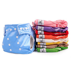 Baby New 6Layers Crotch Baby Diapers Reusable Training Pants  Washable Cloth Nappy Diaper Waterproof Cotton Potty Panties  Underwear [tag]