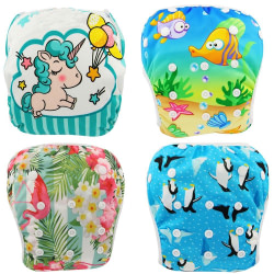 Baby Ohbabyka Baby Swim Diaper Waterproof Adjustable Cloth Diapers Pool Pant Swimming Diaper Cover Reusable Washable Baby Nappies [tag]