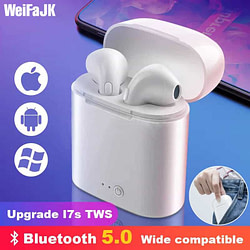 Headphones & Headsets i7s TWS Wireless Headphones Mini Stereo Earbud Bluetooth Earphone For iPhone XiaoMi All Smart Phone air pods With Charging Box [tag]