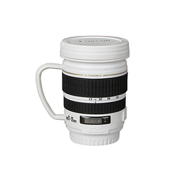Cups & Glasses IVYSHION 220ml Coffee Lens Emulation Camera Mug Cup Beer Water Milk Cups Stainless Steel With Handgrip Christmas drinkware Gifts [tag]