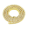 Rings UWIN Mens Hip hop Necklace Iced Out 1 Row Rhinestone Choker Bling Crystal Tennis Chains Necklace 18inch-32inch Drop shipping [tag]