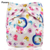 Baby Pororo branded 1PC Waterproof digital printed baby One Size Pocket Cloth Diaper, reusable baby nappies wholesale price [tag]