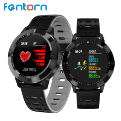 Women's Watches Fentorn Smart Watch Men Women Heart Rate Blood Pressure Oxygen Wrist Muiti Sports Bluetooth Smartwatch for Android IOS Phone [tag]