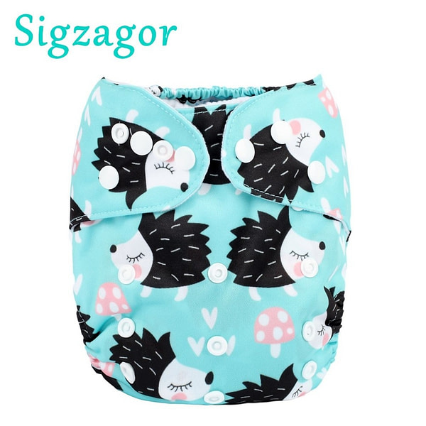 Baby 1 Baby Pocket Cloth Diaper Nappy Reusable, Washable, Adjustable, 3kg-15kg 8lbs-36lbs Kids Microfleece Inner No Insert [tag]