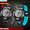 Smart Watches Smarcent G01 GPS Smart Watch IP68 Waterproof Heart Rate Monitor Bluetooth Wristwatch Sports Compass Smartwatch for Android IOS [tag]