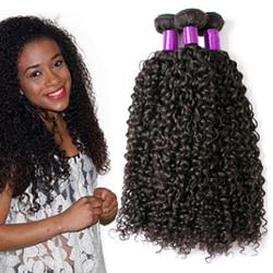 Hair Extensions & Wigs Brazilian Virgin Human Hair Kinky Curly Brazil real wig hair curtain [tag]