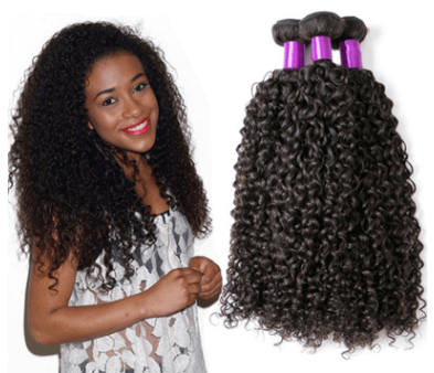 Hair Extensions & Wigs Brazilian Virgin Human Hair Kinky Curly Brazil real wig hair curtain [tag]