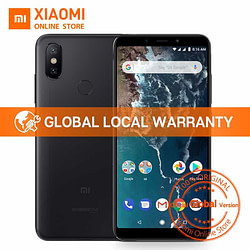 Smartphones Global Version Xiaomi Mi A2 4GB 32GB 5.99″ 18:9 Full Screen Snapdragon 660 Octa Core AI Dual Camera Smartphone Android One OS [tag]