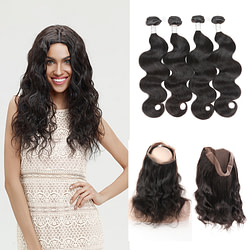Hair Extensions & Wigs Body Wave Human Hair Weave [tag]