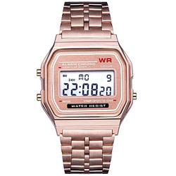Women's Watches Women Digital Watch 2019 Men LED Dress Golden Wristwatch Relogio Digital Esportivo Waterproof Sports Watches Relojes De Mujer [tag]