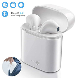 Headphones & Headsets i7s TWS Mini Wireless Bluetooth Earphone Stereo Earbud Headset For Iphone X 8 Smart Phone Headphones air pods With Charging box [tag]