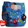 Baby [Littles&Bloomz] One Size Reusable Cloth Nappy Washable Waterproof  Baby Pocket Diaper STANDARD Hook-Loop Cover Wrap Insert [tag]