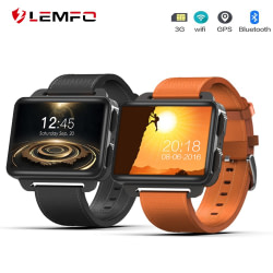 Smart Watches LEMFO LEM4 PRO Smart Watch MTK6580 Android 5.1 Smartwatch 1GB + 16GB 1200mAh Battery Wifi 3G Video Call Replaceable Strap [tag]