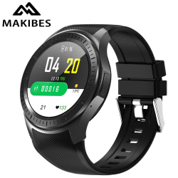 Smart Watches Makibes AT06 4G GPS Smart Watch Blood Pressure Fitness tracker Phone Android 7.1 600mAh Battery WIFI Google for xiaomi huawei [tag]
