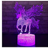 Toys & Hobbies unicorn unicornio horse kids toys glow in the dark fluorescent Birthday Gifts Children Luminous night light [tag]