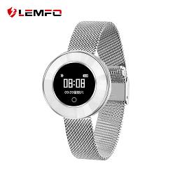 Women's Watches LEMFO X6 Lady Smart Bracelet IP68 Waterproof Steel Strap Heart Rate Monitoring Blood Pressure Smart Watch Women Smartwatch [tag]