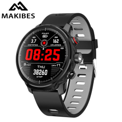 Watches Makibes L5 Smart Watches Standby for 100 days IP68 waterproof Weather Smartwatch Support Led lighting Message call reminder [tag]