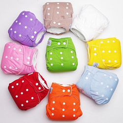 Baby 1PC Adjustable Reusable Baby Boys Girls Cloth Diapers Soft Covers Infant Washable Nappies [tag]