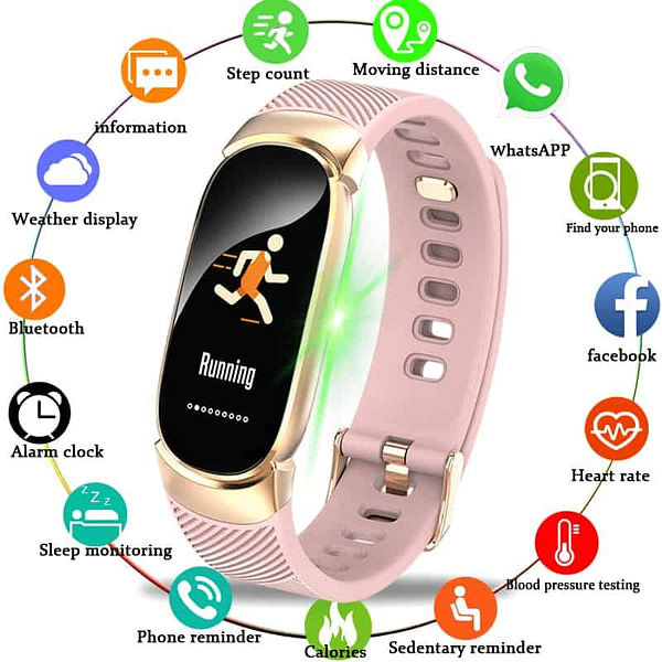 Women's Watches BANGWEI Women Sport Smart Watch Men LED Waterproof SmartWatch Heart Rate Blood Pressure Pedometer Watch Clock For Android iOS [tag]